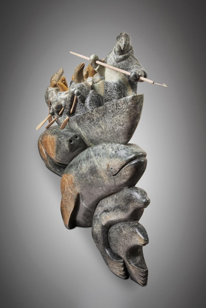 Abraham-Ruben-Migration-Umiak-with-Spirit-figures.jpg