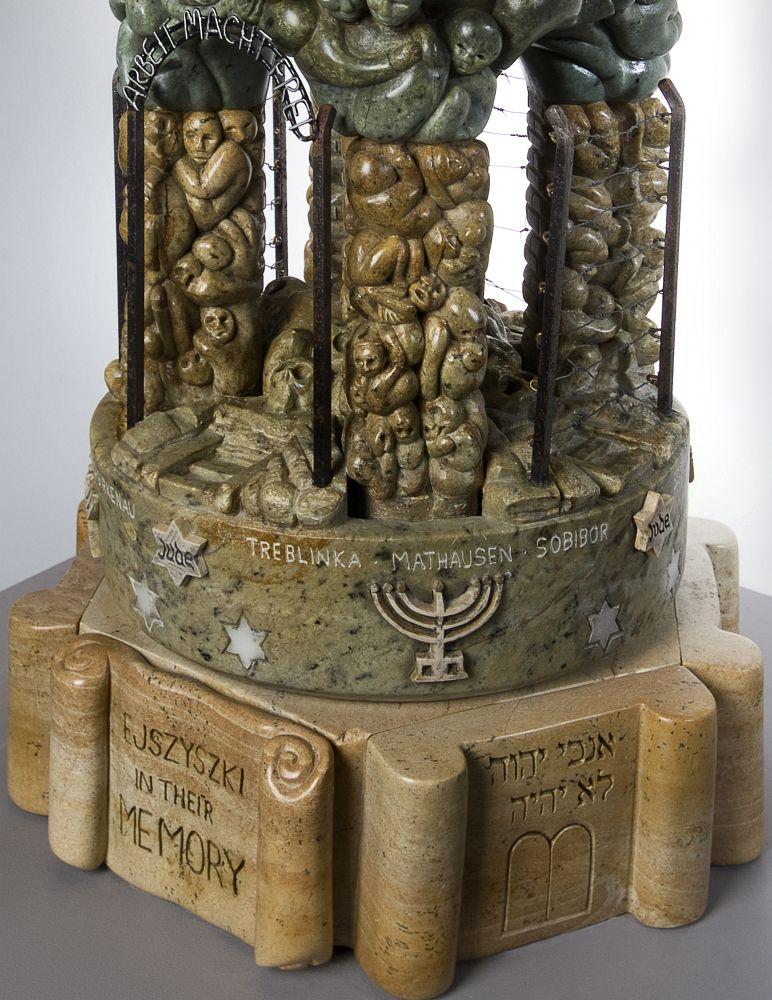 Auschwitz-Birkenau-Sculpture-Abraham-Ruben