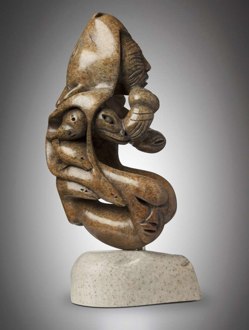 Smithsonian collection sculptures by inuit artist