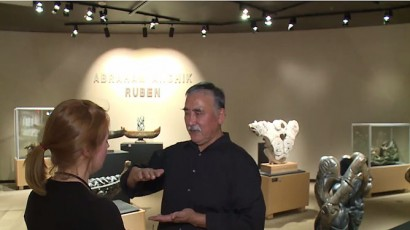 Abraham-Ruben-Yellowknife-exhibit-CBC-north