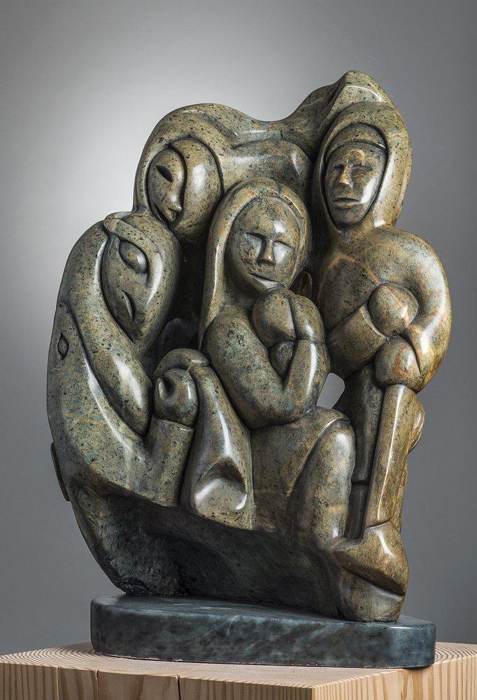 Abraham Anghik Ruben Inuit Sculpture